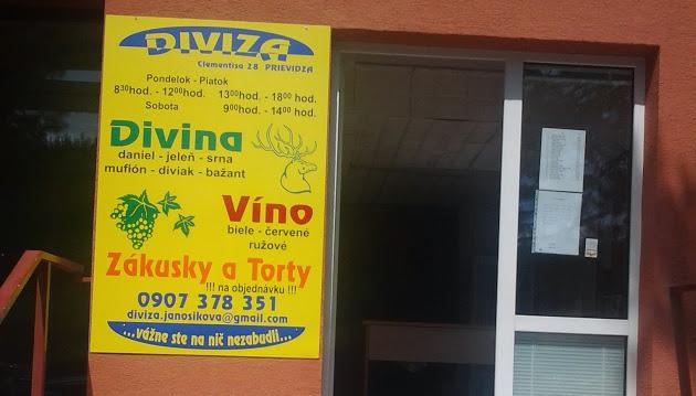 DiViZa - divina, víno, zákusky