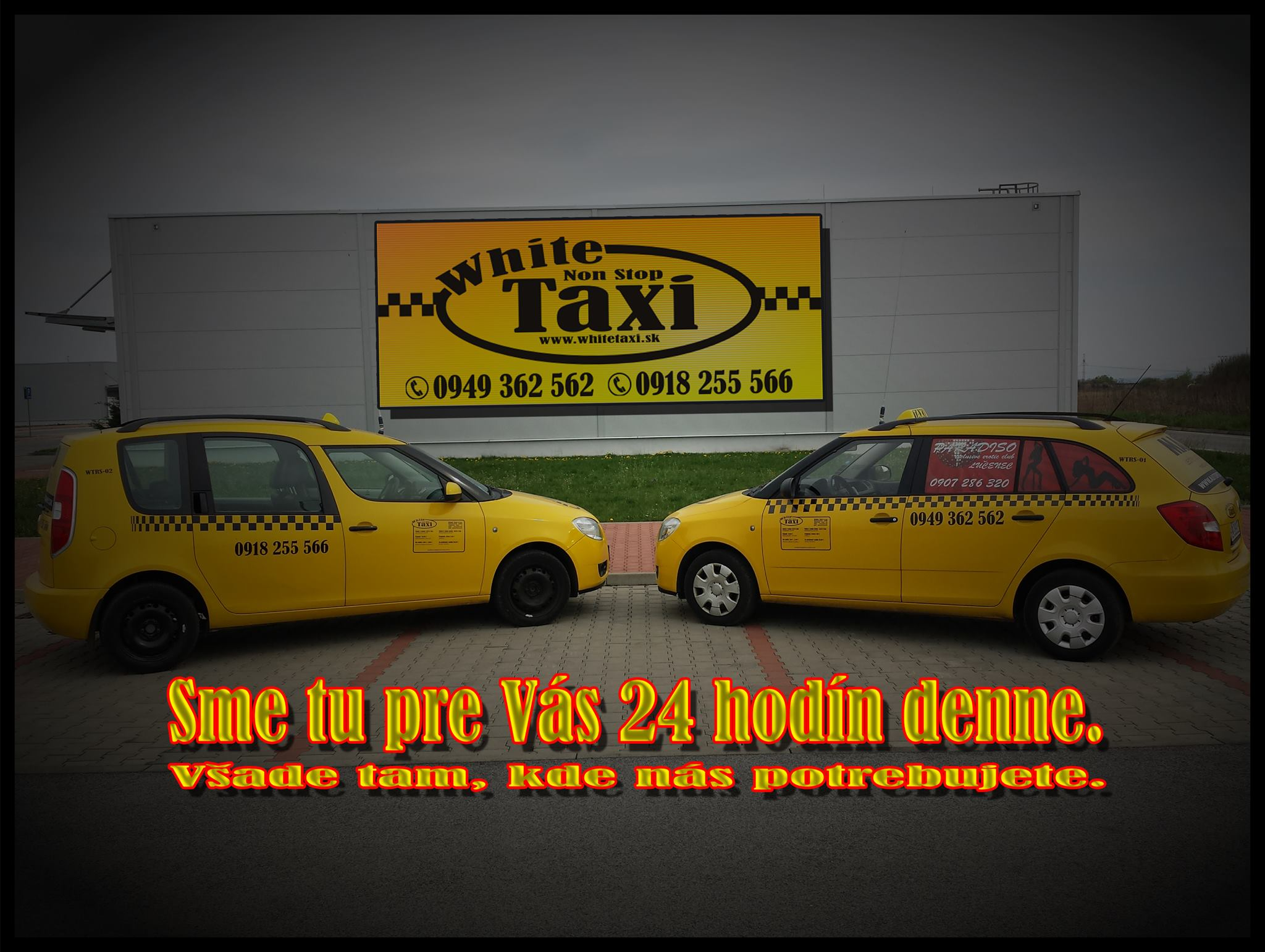 White Taxi s.r.o.,  WTRS Autopožičovňa