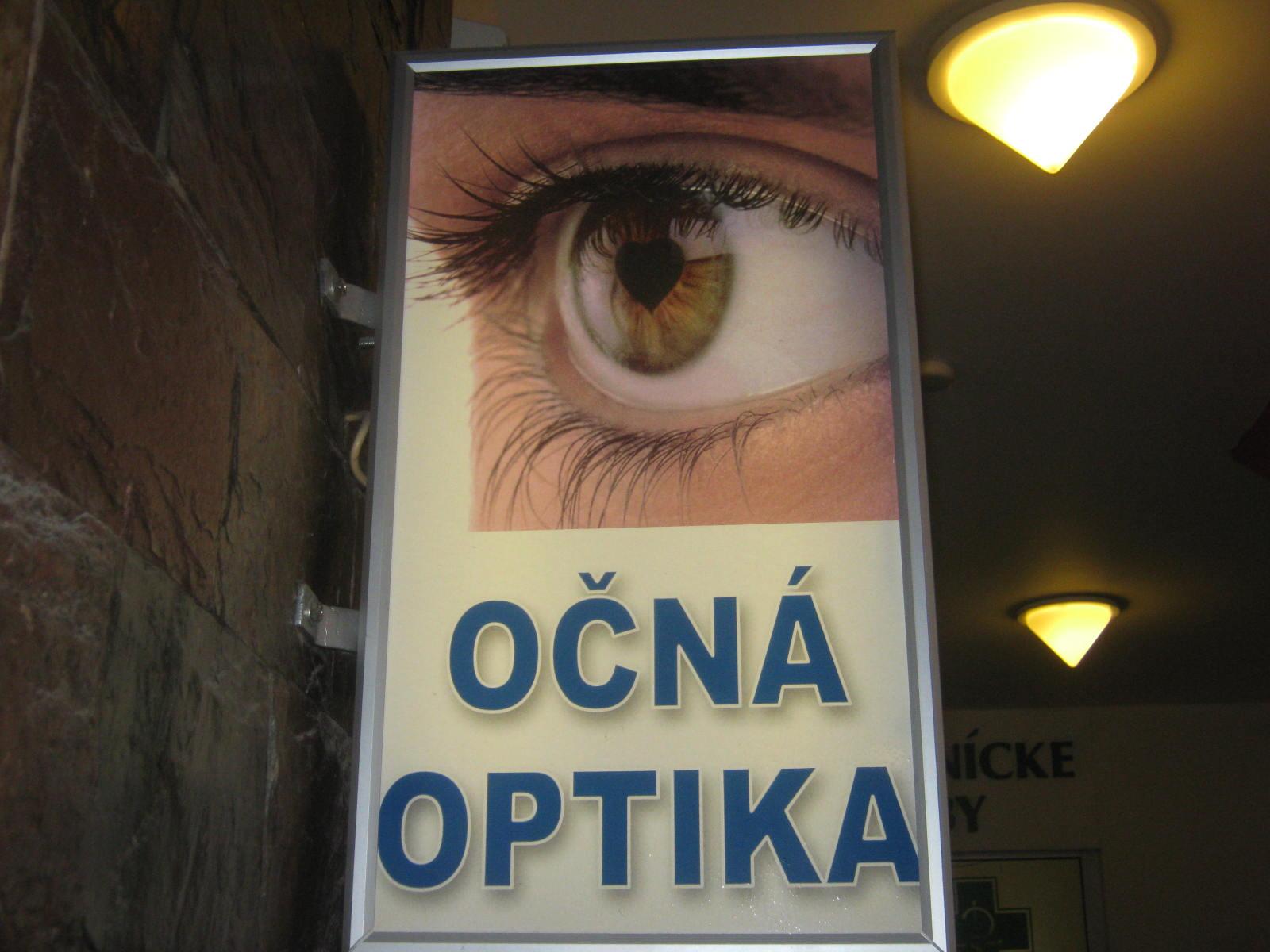 Očná optika Express Vision, s. r. o.  V PASÁŽI